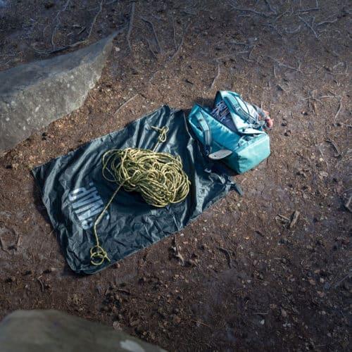 rope bag and rope tarp SNAP