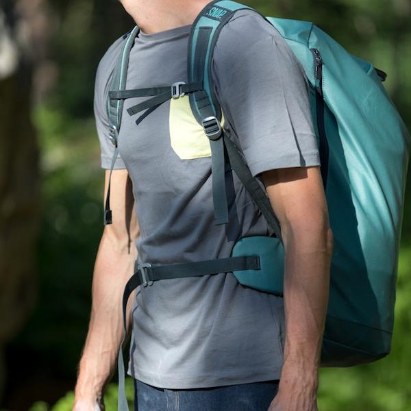 profile rope bag green SNAP climbing