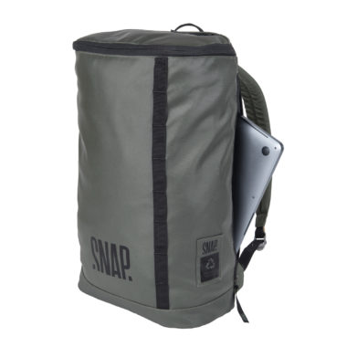 waterproof laptop backpack khaki color
