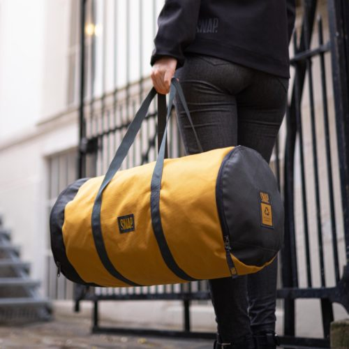 gym duffle bag curry color