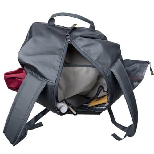 snpack climbing rope bag