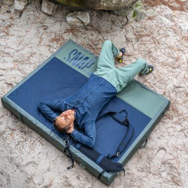 snap climbing crash pad grand wham
