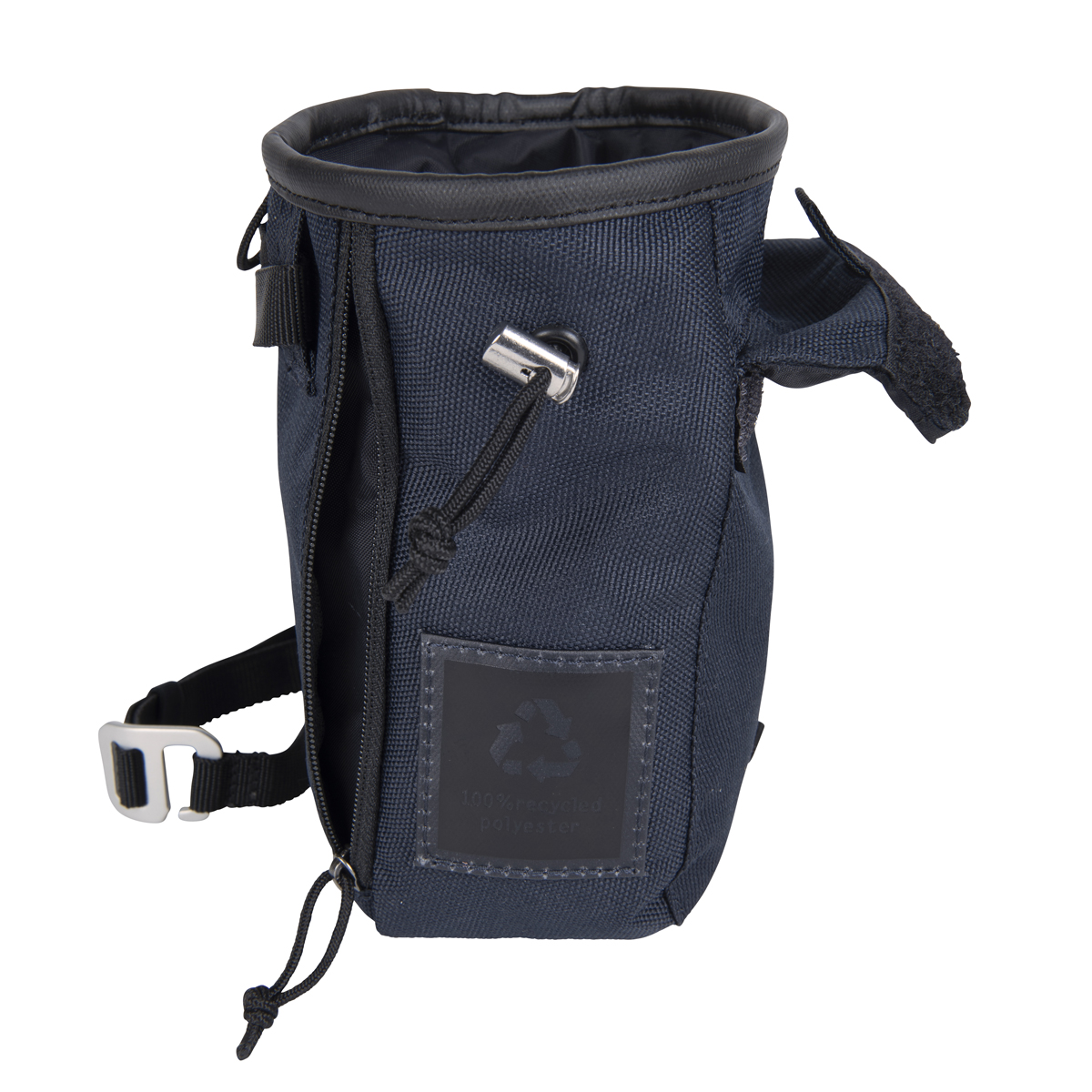 chalk bag snap navy blue