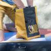 big chalk bag for bouldering