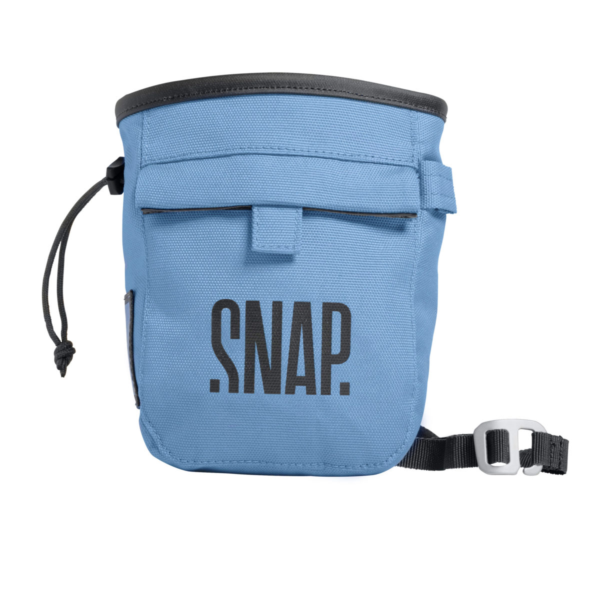 blue climbing o bouldering chalk bag