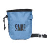 individual chalk bag with zipped pocket