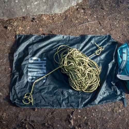 climbing rope tarp