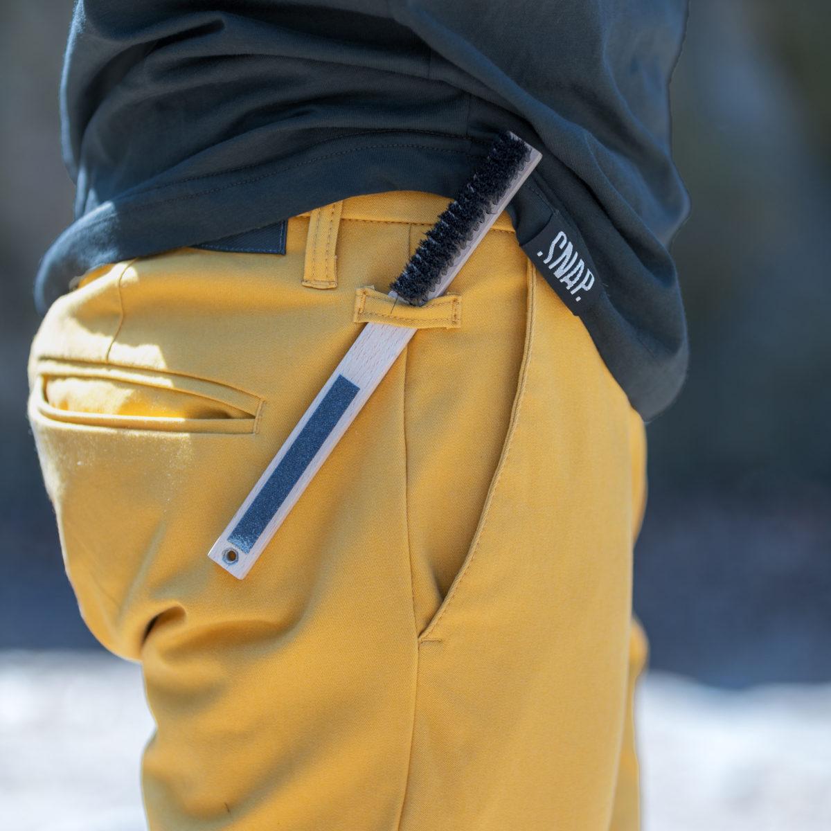 mustard chino pants for man