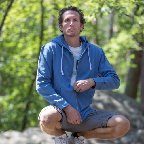 eco-friendly hoody for climber