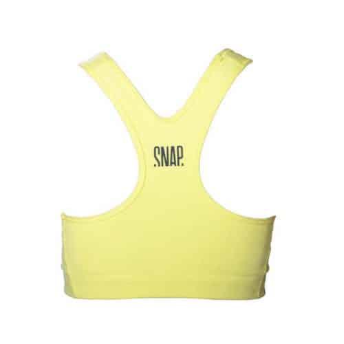 sports bra back view
