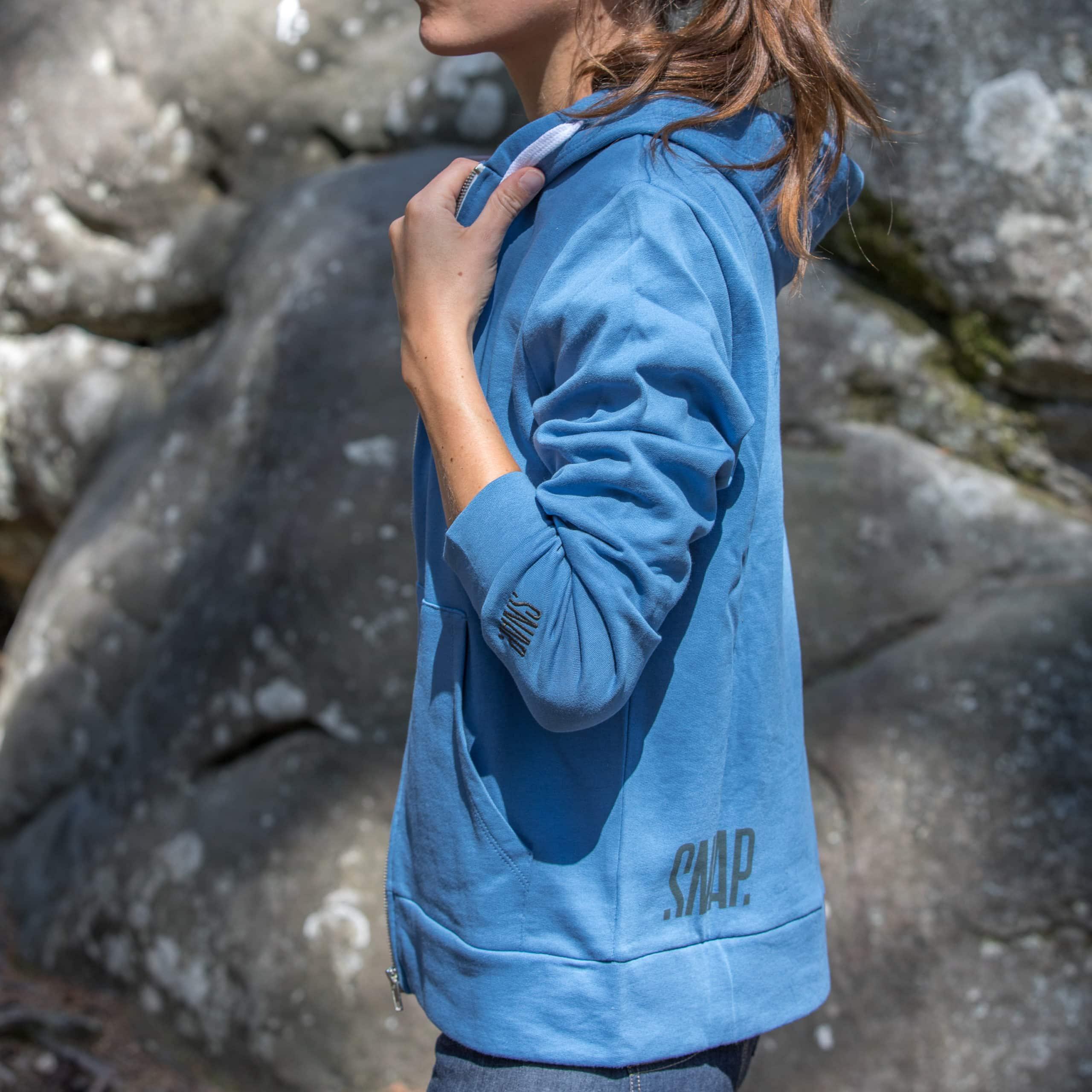 organic cotton hoody for woman