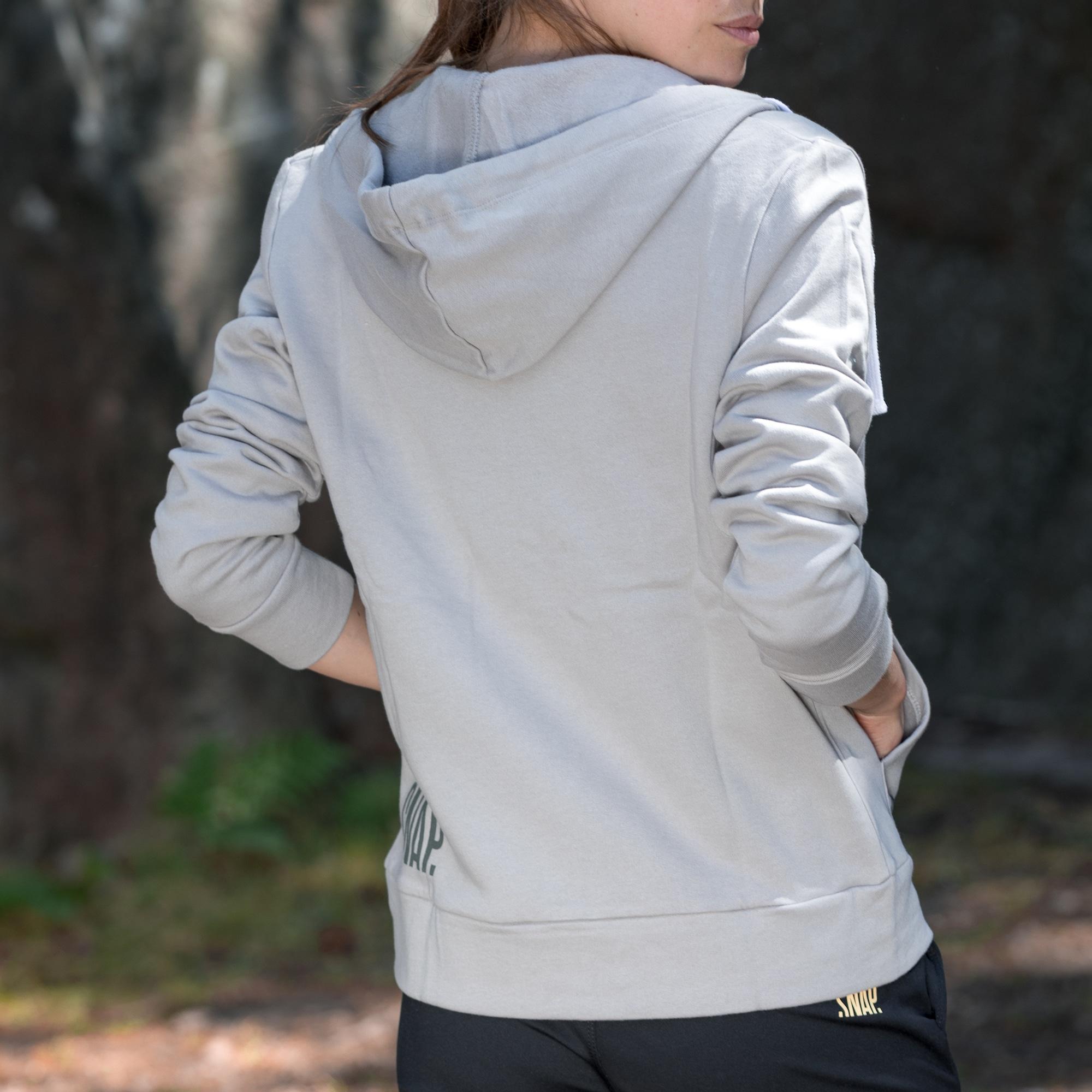 grey organic cotton sweater