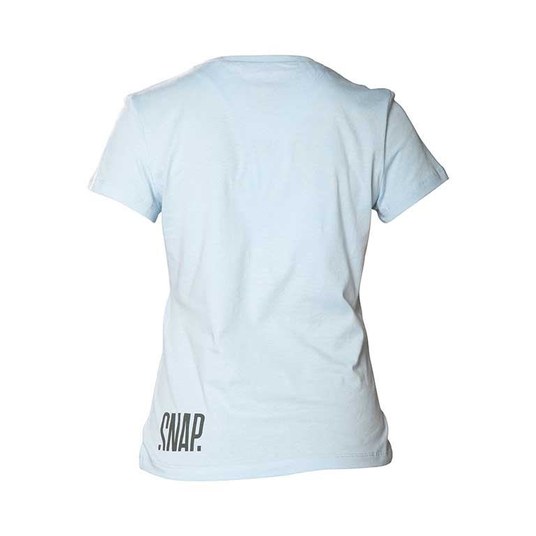light blue t-shirt back