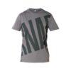 grey pattern t-shirt