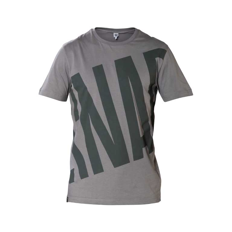 grey pattern t-shirt