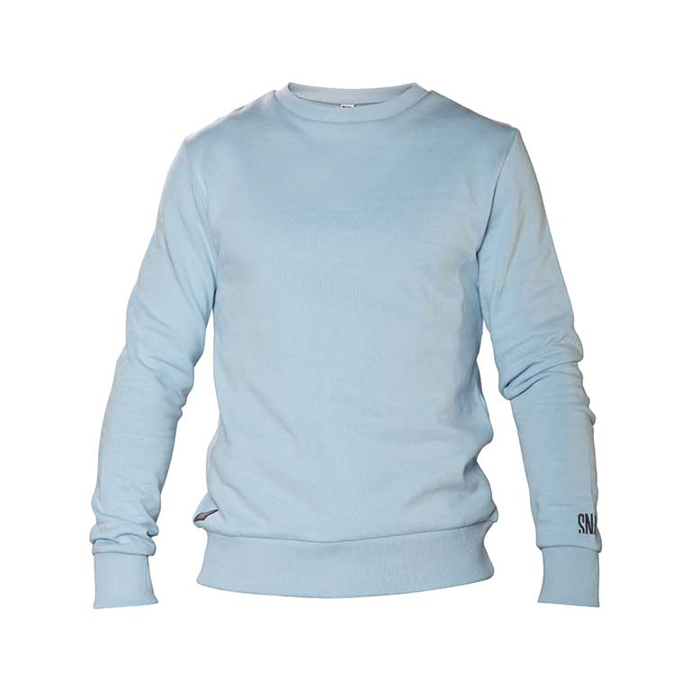 light blue sweater organic cotton men/woman