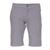 grey chino short for climbing and working men