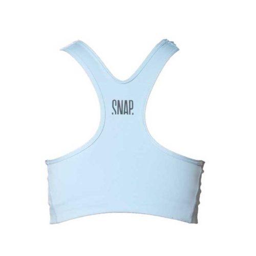 light blue classic bra