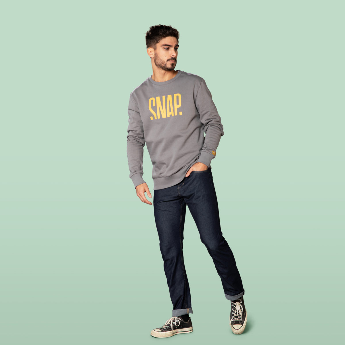 organic cotton sweater man
