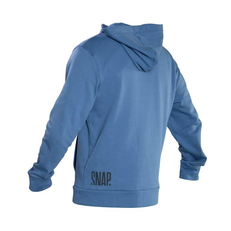 blue zip hoodie back