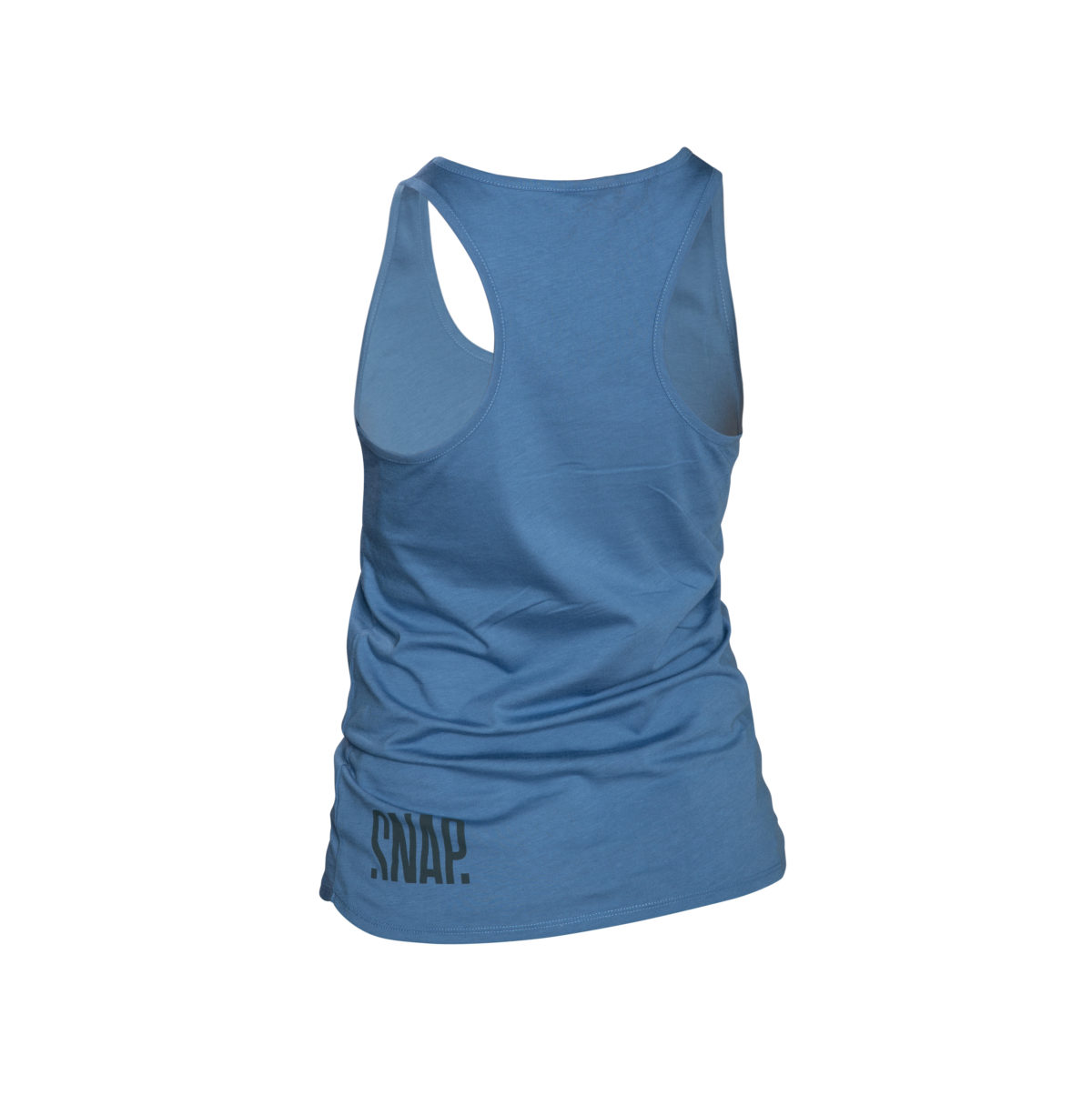organic cotton blue tank top