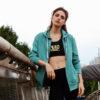 green hoodie streetwear