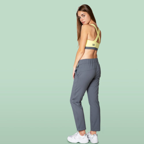 grey pants casual jogger for woman