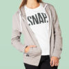 light grey hoodie