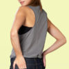 loose logo tank top back