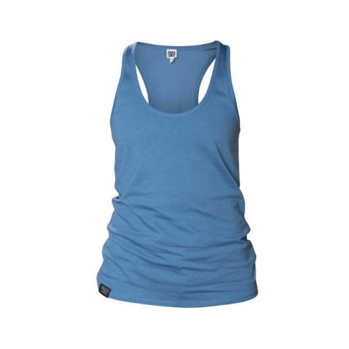 blue top for climbers