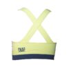 yellow crossed bra snap climbing back