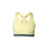 yellow crossed bra front