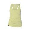 yellow fit tank top snap climbing
