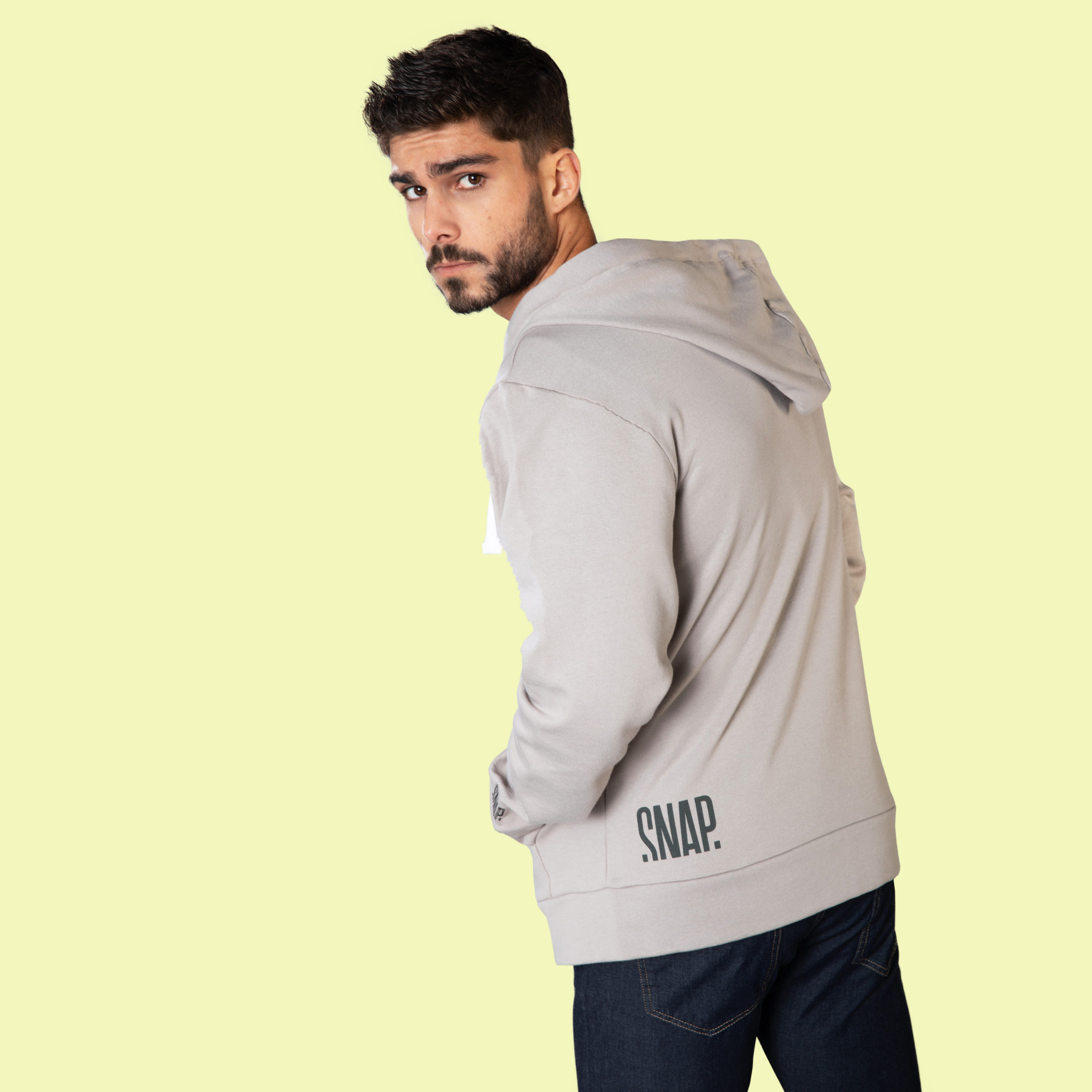 light grey hoody for men and women