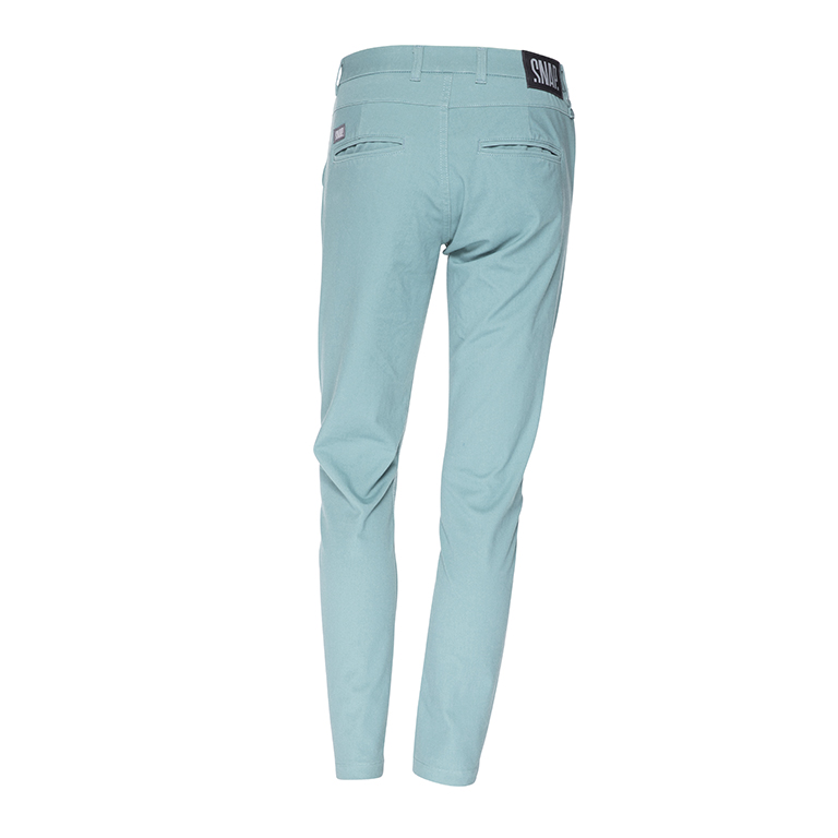 green celadon chino pants woman