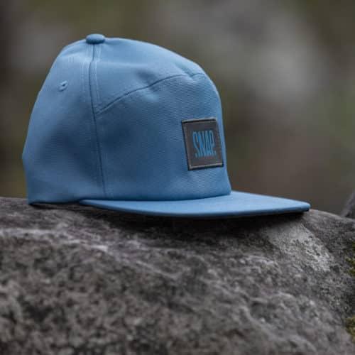 cap for climbers in crash pad's scraps
