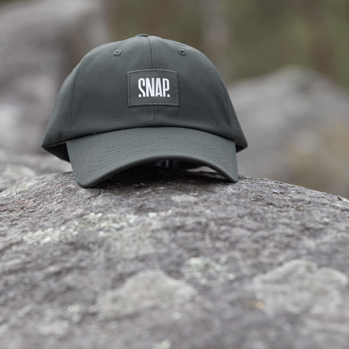 cap for climber in crash pad scraps