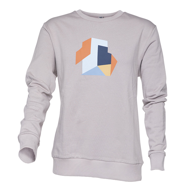 dietrich grey sweater organic cotton