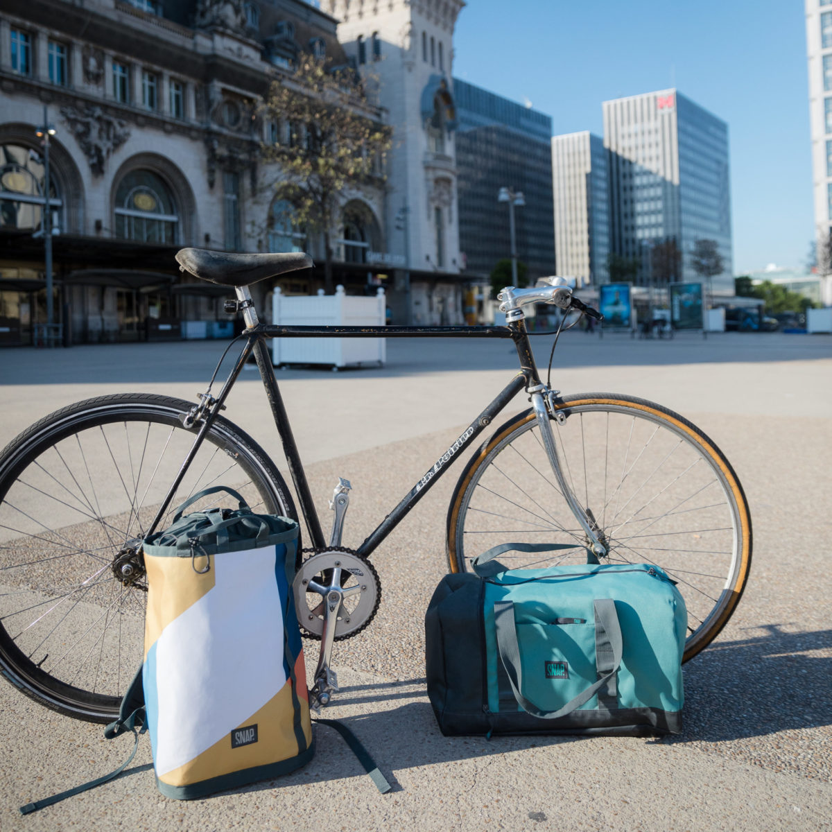 dietrich haulbag with a bike