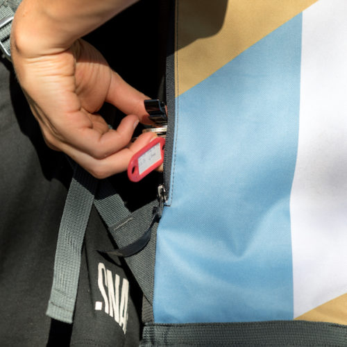 key pocket haulbag SNAP