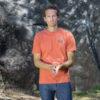 hemp t-shirt for man outdoor