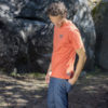 climbing clothing t-shirt for man