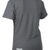 grey merino wool t-shirt back