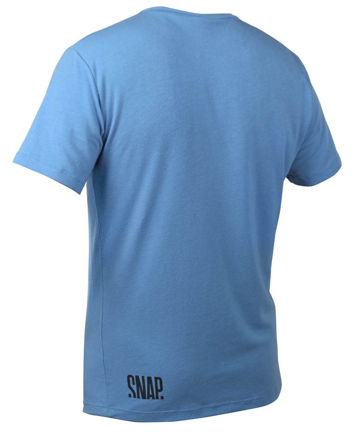 blue merino t-shirt