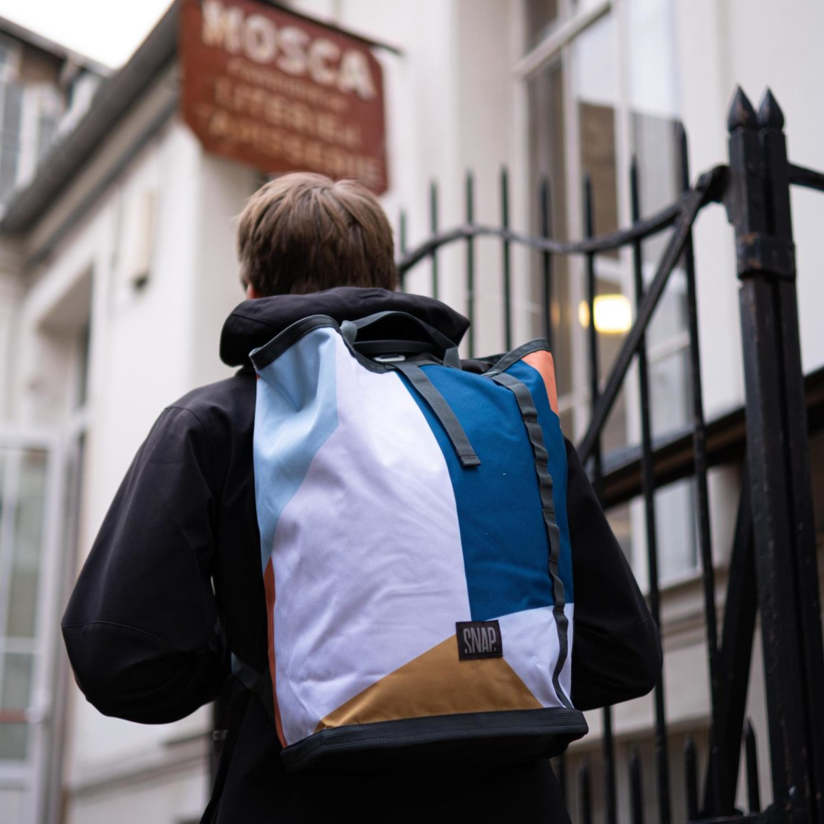 eco-friendly backpack severine dietrich