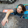 technical merino t-shirt for climbers front outdoor