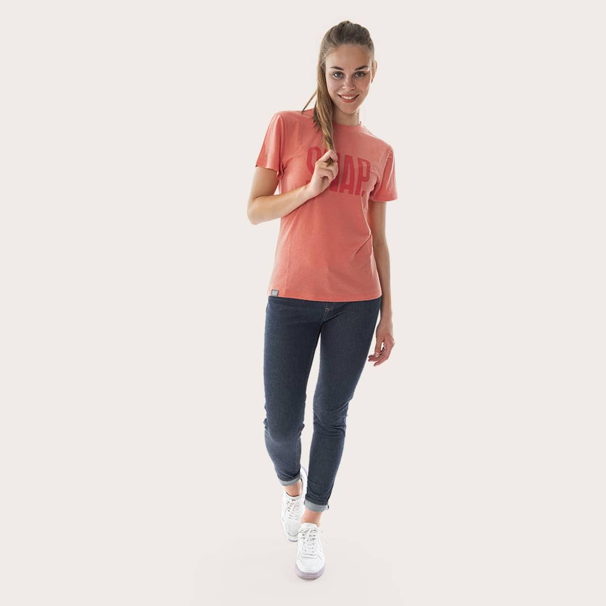 merino wool t-shirt for woman