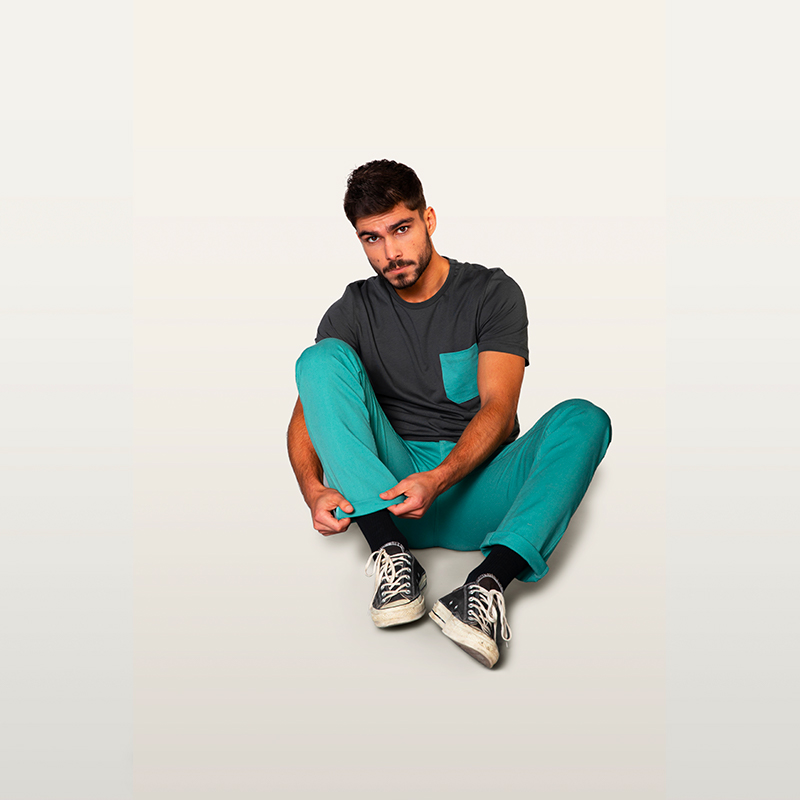 green chino pant for city dwellers