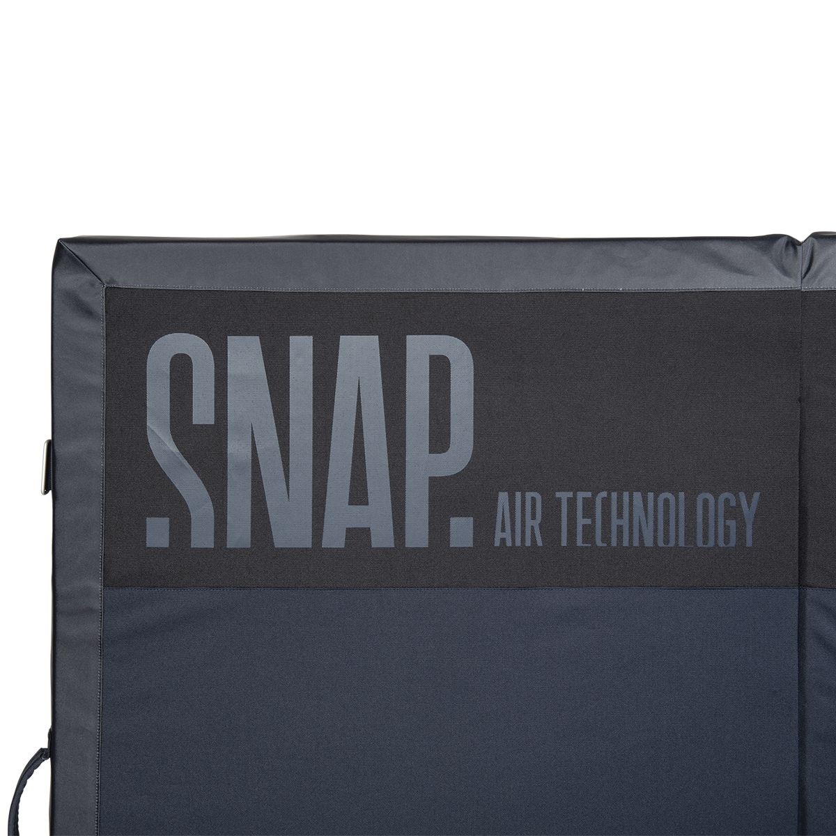 snap logo on a crash pad grand guts