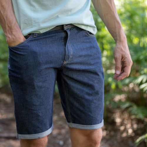 jeans shorts for man